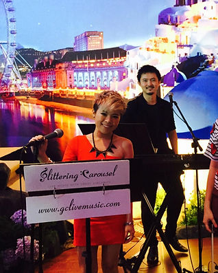 Singapore Wedding Live Band, Wedding Emcee & Host, gclivemusic, glittering carousel, wedding singers, wedding musicians, Live String Music, Live Instrumental Band, Jazz Band