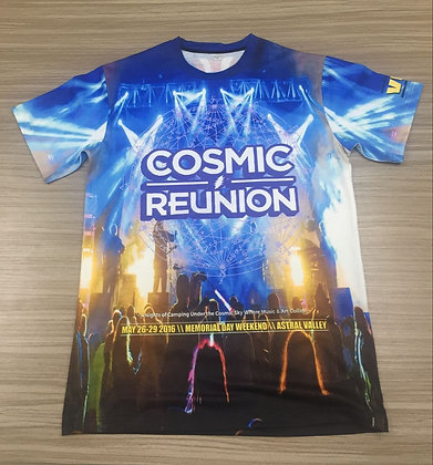 All Over Sublimation T-Shirt - 2016 Cosmic Reunion