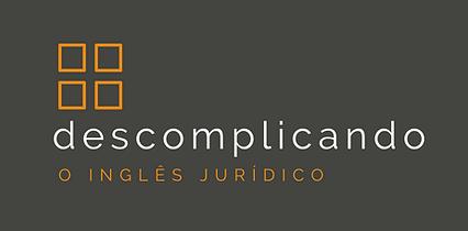 Inglês Jurídico - logo descomplicando