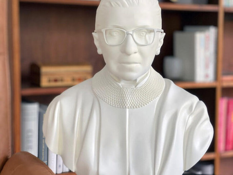 Where Can You Get A Ruth Bader Ginsburg Sculpture?