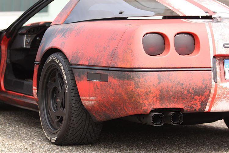 Corvette hot rot c4