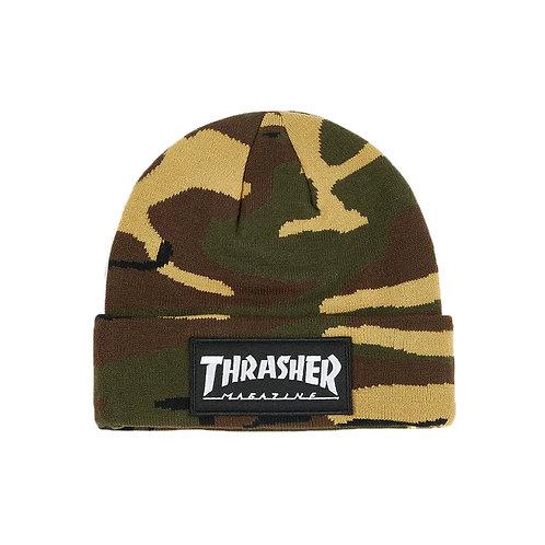 Logo Patch Beanie - Thrasher