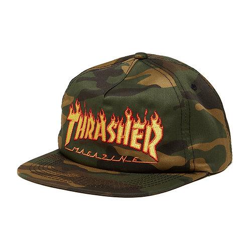 Flame Snapback - Thrasher