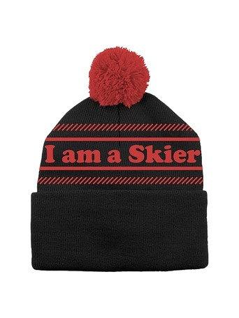 I'm a Skier Beanie - Line