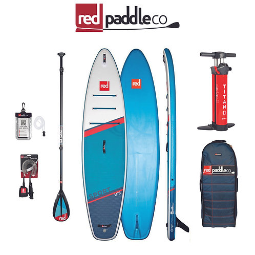 11'3 Sport C50-Nylon 3pc Package - Red Paddle Co