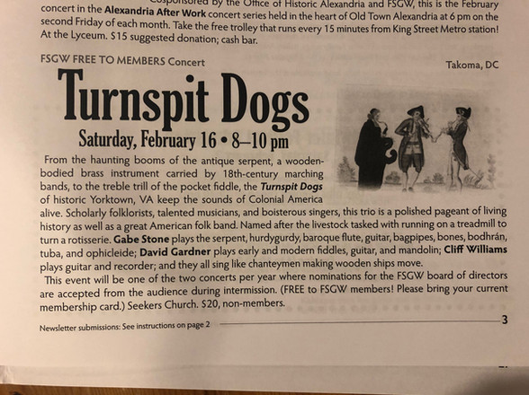Newspaper Ad for Turnspits