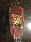 CBF #3 Headstock Lion Inlay