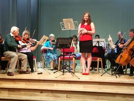 Soloist with Aberdeen Sinfonietta