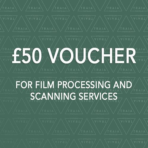 £50 Gift E-Voucher