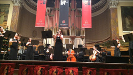 Performing in Aberdeen Music Hall
