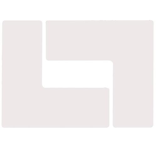 """2"""" X 5"""" White Floor Ls Pack of 20"""