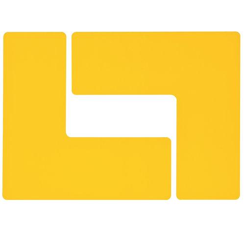 """2"""" X 5"""" Yellow Floor Ls Pack of 20"""