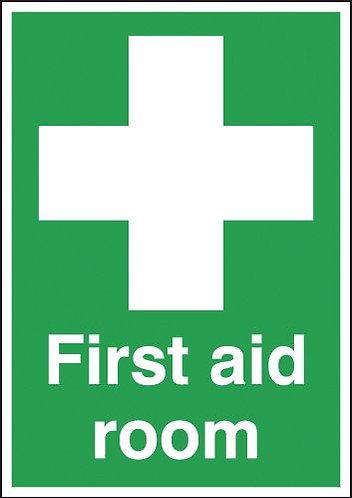 210x148mm First Aid Room - Rigid