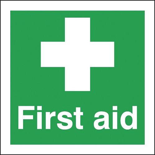 150x150mm First Aid - Rigid