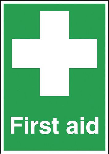 210x148mm First Aid - Self Adhesive