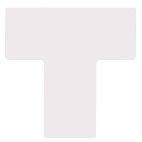 """2"""" X 5"""" White Floor Ts Pack of 20"""