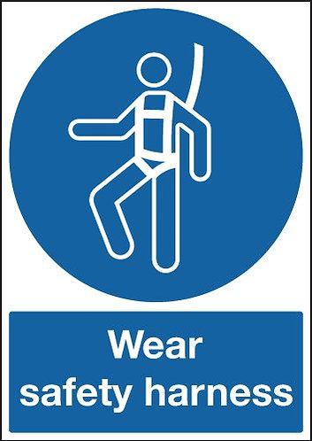 210x148mm Wear Safety Harness - Rigid