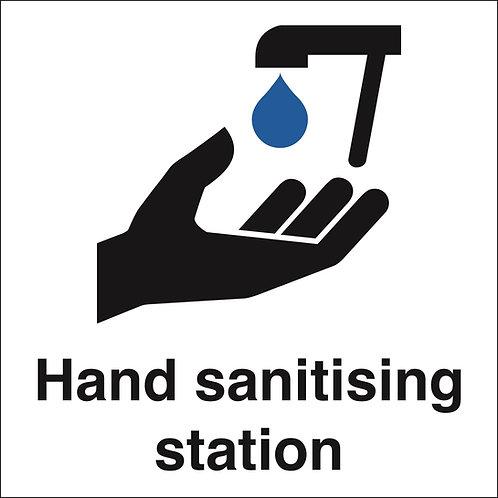 200X200 Hand Sanitising Station - Rigid