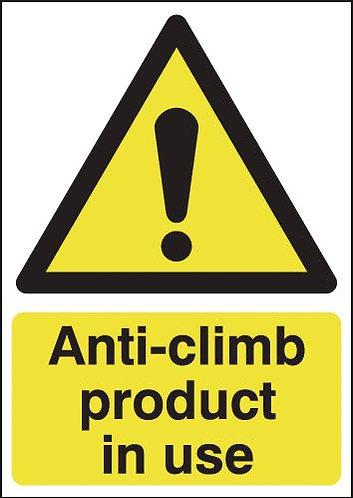 210x148mm Anti-climb Product In Use - Rigid