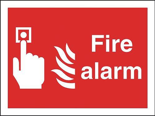 200x400mm Fire Alarm - Rigid
