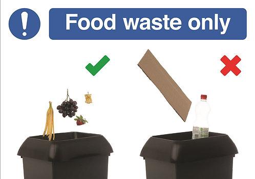 210x297mm Food waste (Do/Don't) - Rigid