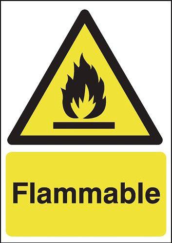 210x148mm Flammable - Self Adhesive