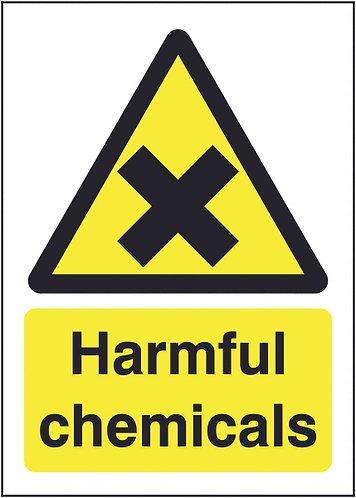 210x148mm Harmful Chemicals - Self Adhesive