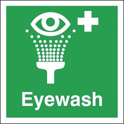 150x150mm Eyewash - Self Adhesive