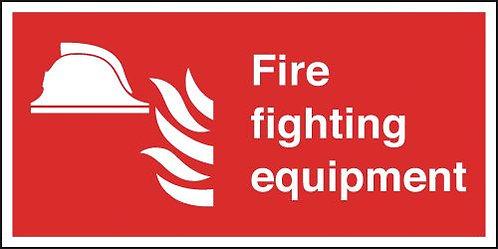 200x400mm Fire Fighting Equipment - Rigid