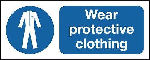 100x250mm Wear Protective Clothing - Rigid