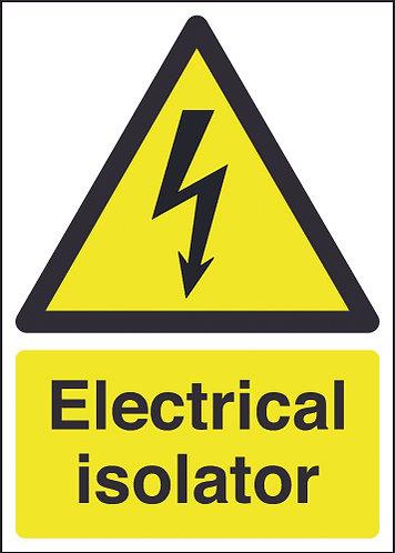 210x148mm Electrical Isolator - Rigid