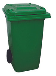120 Litre Wheeled Bin - Green