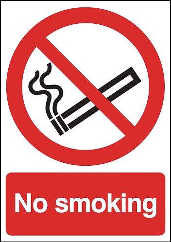 210x148mm No Smoking - Rigid