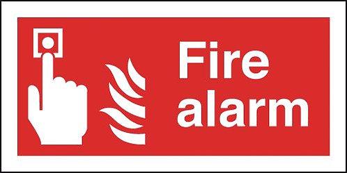 100x200mm Fire Alarm - Self Adhesive