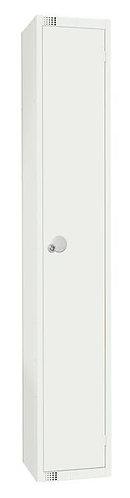 1 Compartment Locker - White - 1800 x 300 x 450mm