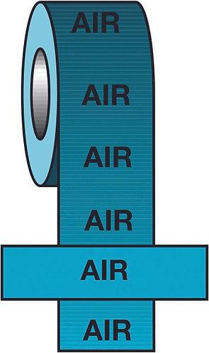 150mmx33m Air BS Pipeline Marking & Identification Tape