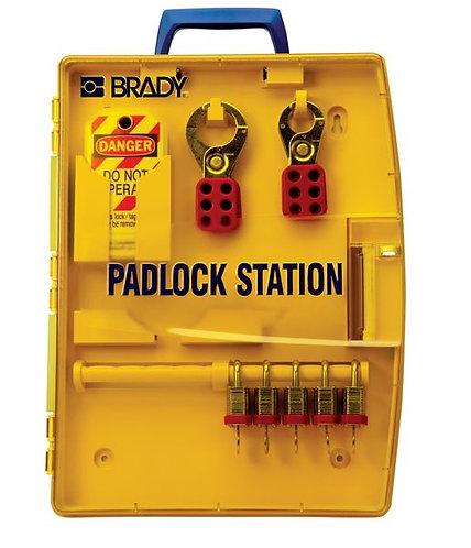 178 x 337 x 64mm Portable Padlock Station
