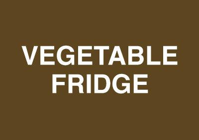 148x210mm Vegetable Fridge - Rigid