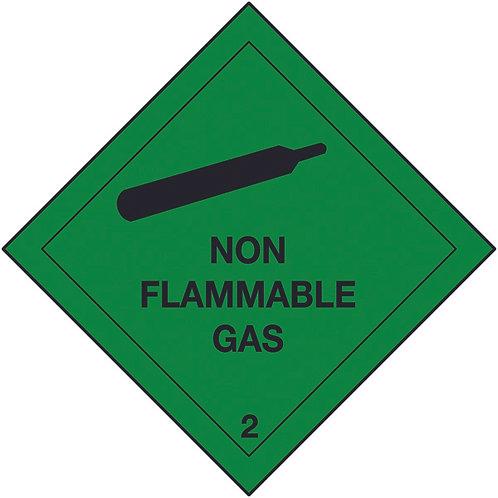 100x100mm Non Misc Class 9 Hazard Warning Diamond Roll of 310