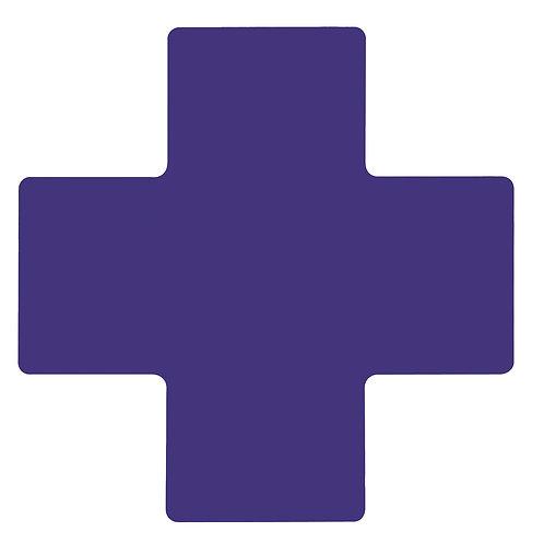 """2"""" X 5"""" Blue Floor Crosses Pack of 20"""
