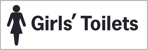 100x300mm Girls toilets - Self Adhesive