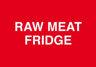 148x210mm Raw Meat Fridge - Rigid
