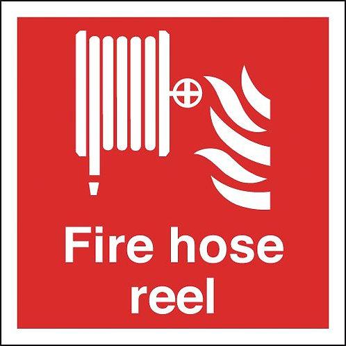 200x200mm Fire Hose Reel - Self Adhesive