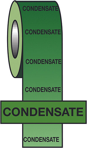 150mmx33m Condensate BS Pipeline Marking & Identification Tape