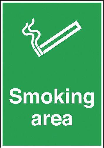 210x148mm Smoking Area - Rigid