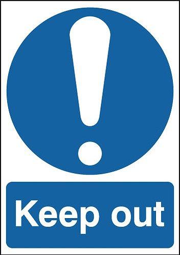 210x148mm Keep Out - Rigid