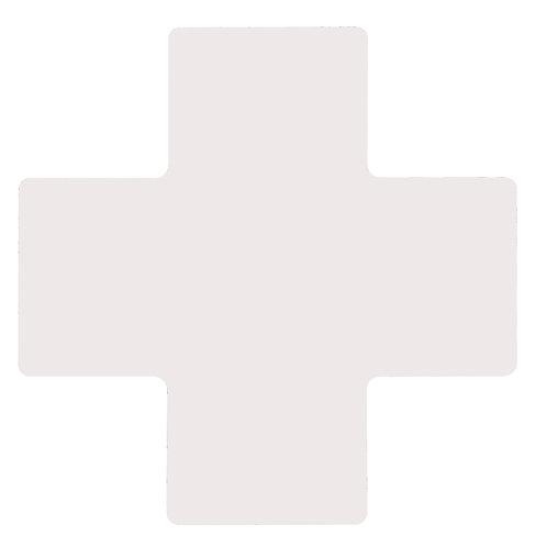 """2"""" X 5"""" White Floor Crosses Pack of 20"""