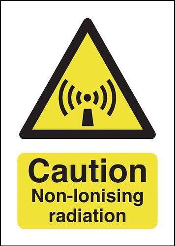 210x148mm Caution Non-ionising Radiation - Rigid