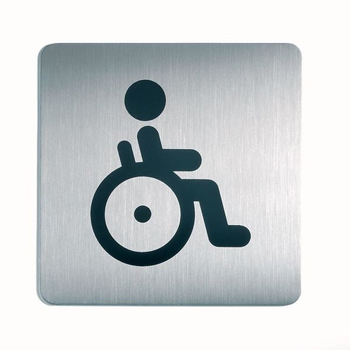 150x150mm WC Disabled - Square picto