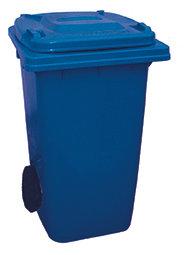 120 Litre Wheeled Bin - Blue